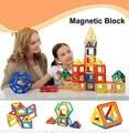 Crianças brinquedos educativos 32 pcs brinquedo magnético 10 pcs triângulo 16 pcs praça 2 pcs hexagonal 3d diy blocos de construção
