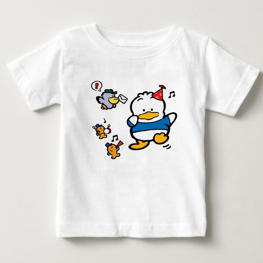 2018 children 39 s T shirt 3 15 year old boy and girl T shirt cute cartoon little duck print T shirt S 3XL size children in T Shirts from Mother amp Kids