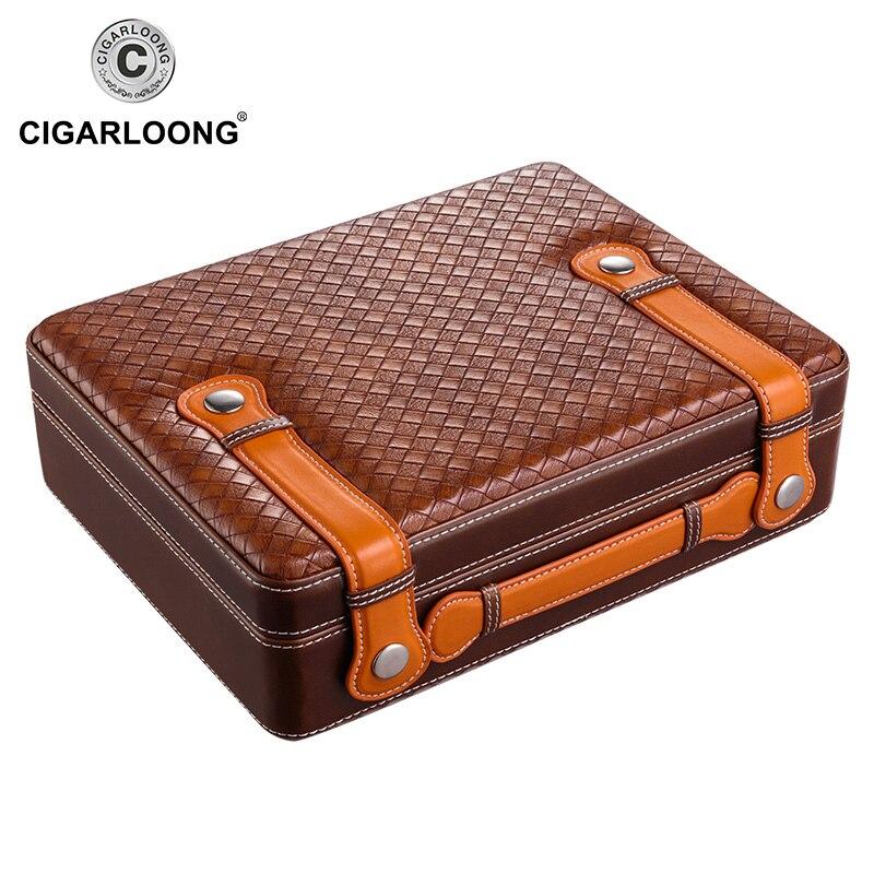 Luxury christmas gift COHIBA Cigar Box Cedar Wood Cigar case Moisturizing Cabinet Cigar Humidor CA 0016