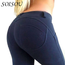 soisou low waist leggings women sexy hip push up pants legging jegging gothic leggins jeggings legins 2017 autumn winter fashion