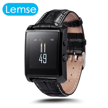 Lemse LF06 Reloj Inteligente Bluetooth Para IOS Android 380 mAH Batería 2.0MP Cámara Fotógrafo Remoto IP67 Impermeable Smartwatch