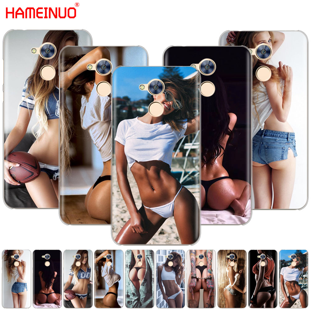 HAMEINUO <font><b>Sexy</b></font> Body <font><b>Girls</b></font> Design Painted Cover phone Case for Huawei <font><b>Honor</b></font> 10 V10 4A 5A 6A 7A 6C 6X <font><b>7X</b></font> 8 9 LITE image