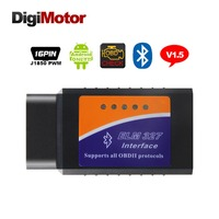 2014 NEW Code Reader Diagnostic Tool Mini ELM327 Bluetooth OBD2 Scanner V1 5 ELM 327 Obd
