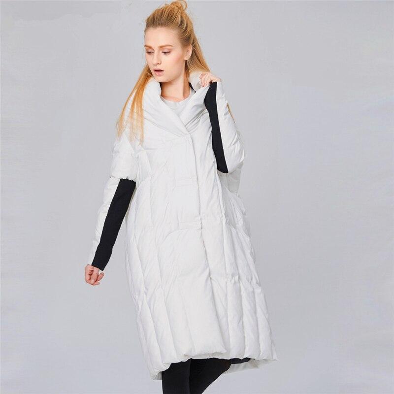 Ymojnv Nouvelle Duvet Parka white 90Blanc Femmes Grande Veste Taille Mode De Manteau Usure Conception Black Lâche Canard D'hiver Neige Femelle Personnalité GSMUVpqz