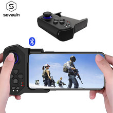 Pubg Pengendali Goystick Bluetooth Satu Tangan Pubg Mobile Gamepad Wireless Portable Game Controller untuk iPhone Android Ponsel(China)