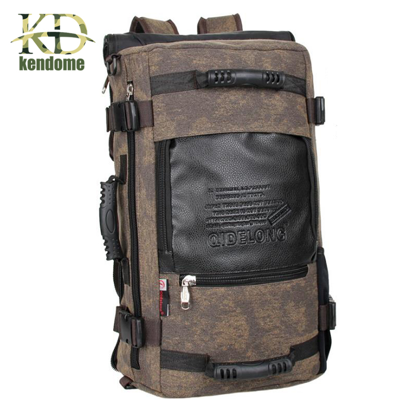 Hot Outdoor Sports Travel Large Capacity Backpack Male Luggage Shoulder Bag Computer Backpacking Men Functional Versatile Bags