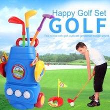 Гольф игрушка набор с три мяча спортивные красочные развивающие Игрушечные лошадки идеально игры на свежем воздухе Гольф er подарок для детей новый