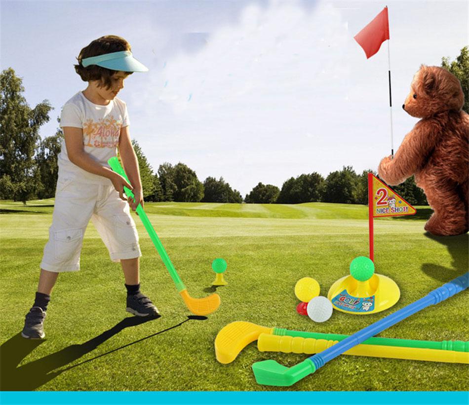 unidades nios juguetes juego de golf pelota de golf de golf de diversin familiar juegos