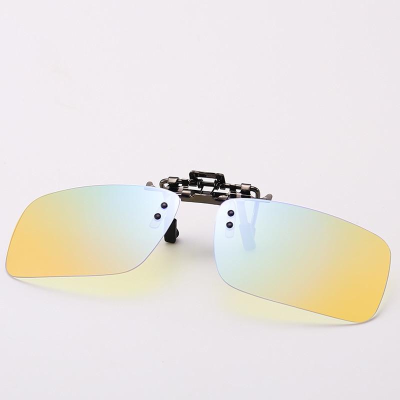 New Unisex Eyeglasses Blue Light Blocking Glasses Clip On