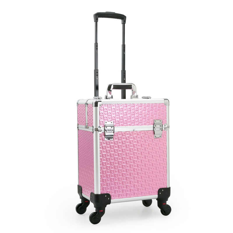 29190287d ... Cosmetic Case luggage profession suitcase for makeup Trolley Box Beauty  professional Luggage travel Cosmetic Bag Universal ...