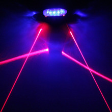 LED Bicycle Light 2 Lasers Mountain Bike Tail Light Lamp Luces MTB Night Safety Warning Bike Rear Light Bycicle Light Cycle