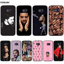 YIMAOC Drake Soft Silicone Case for Samsung Galaxy S6 S7 S10e Edge S8 S9 Plus A3 A5 A6 A7 A8 A9 J6 Note 8 9 2018(China)