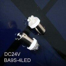 High quality led 24v BA9S instrument lights,BA9S led bulbs DC24V BA9S LED indicating lamp,BA9S led 24V free shipping 5pcs/lot