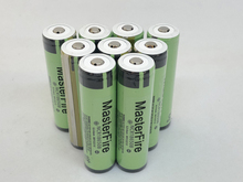 MasterFire 10PCS/LOT Protected Original 18650 NCR18650B 3.7V 3400mAh Rechargeable Lithium Battery For Panasonic with PCB