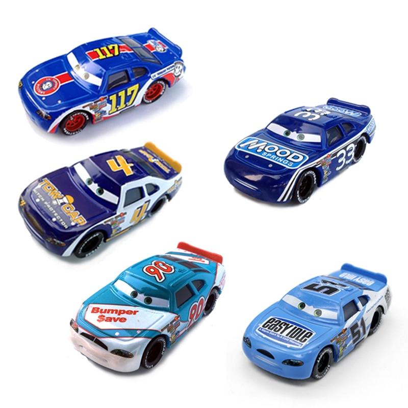 Disney Pixar Cars 2 3 Lightning McQueen Champion Mater 1:55 Diecast Metal Alloy Model Car Birthday Gift Toy For Children Boy