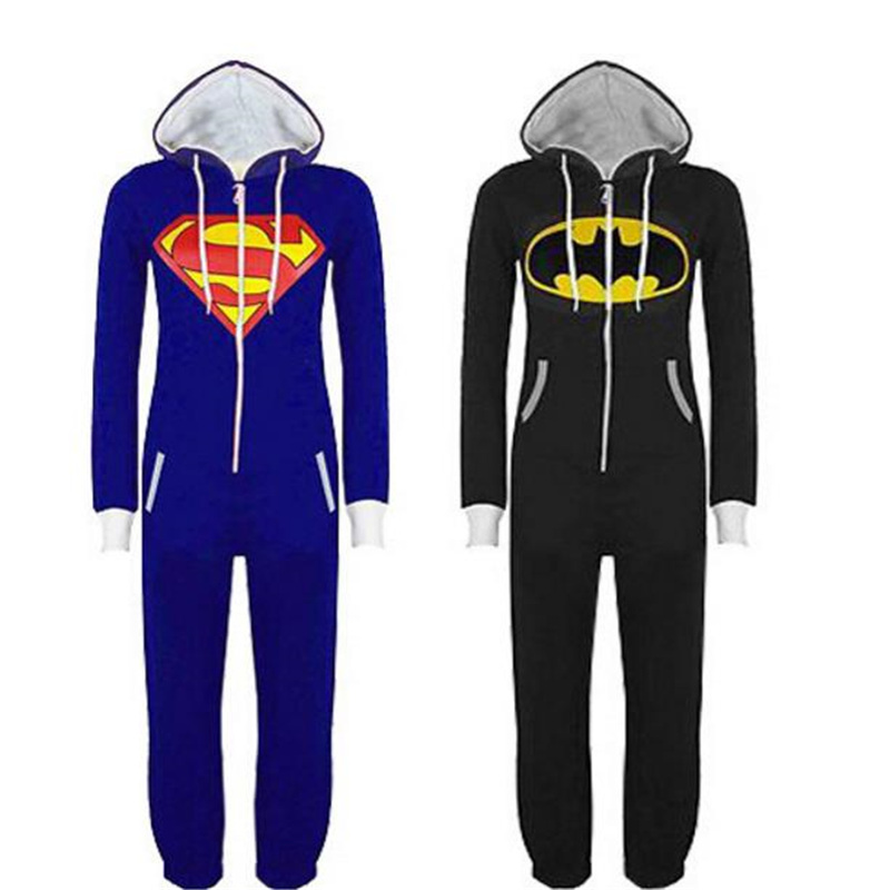 Superman Cosplay Bruce  Wayne  Superman  Pajamas Batman    ComicStrip  Cartoon  Animal  Cartoon Anime Hoodies Sweatshirts Sets