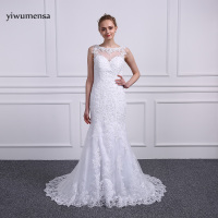 Yiwumensa Vestidos De Noiva Mermaid Wedding Dresses 2018 Appliques Mariage Robe De Mariee Wedding Bridal Gowns