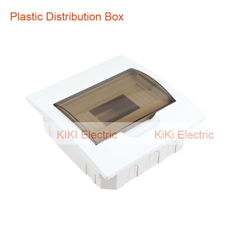 Panel Mount 6 way Waterproof Plastic cover and base distribution box ...