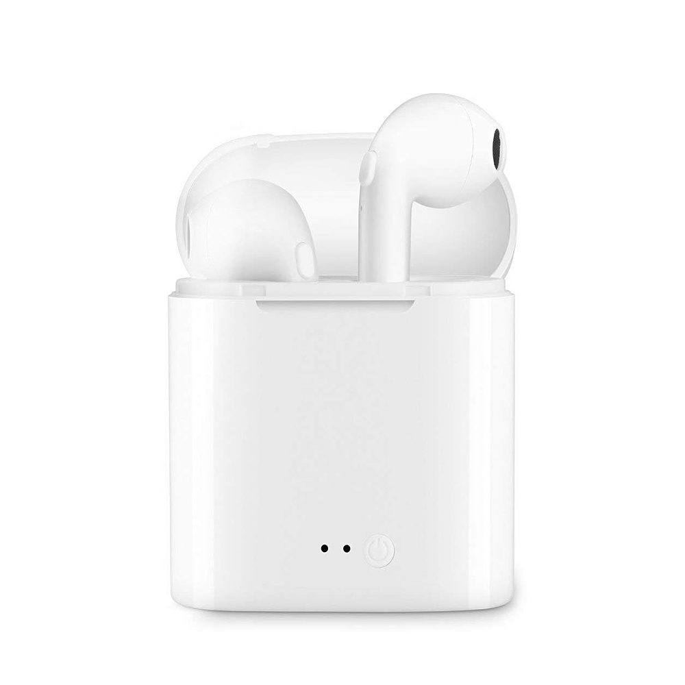 For APPLE Wireless Bluetooth Earphone Stereo In-Ear Earbud Version Bluetooth Headphone with Charging Case for Android and IOS