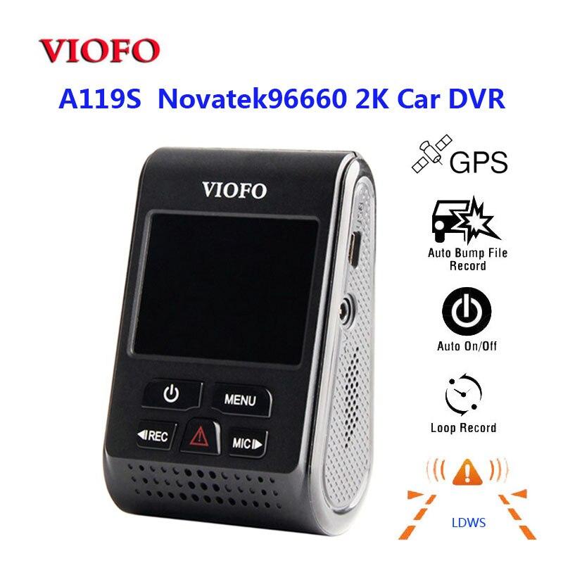 VIOFO DVR A119S 60fps Lcd-Screen Car-Dash-Camera Super-Capacitor 1080p H.264 HD No No