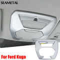 For Ford Kuga Escape 2013-2017 Car Reading Lights Covers ABS Chrome Trim Chromium Styling Interior Decoration Auto Accessories