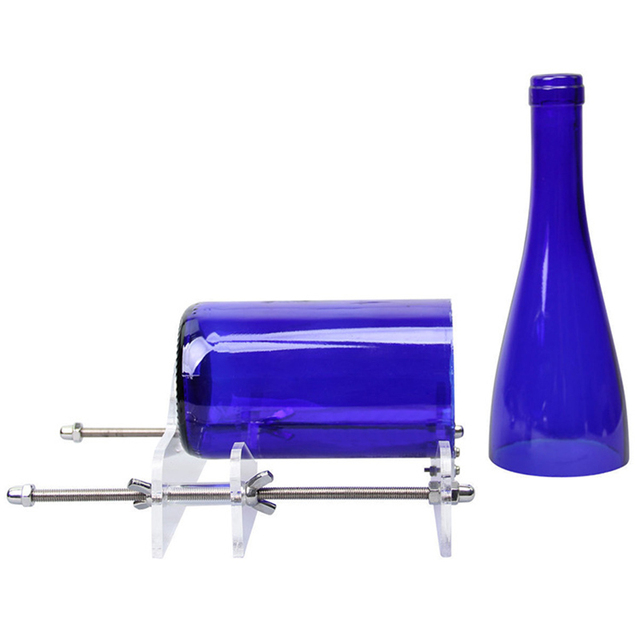 Cool Glass Bottle Cutter Tool Creative DIY Cutting Tools Machine Round Wine Beer for Crafts Artwork Eco-friendly Safe 4