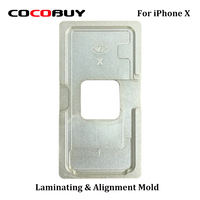 Novecel 1 Set Precision Aluminium Mould For IPhone X Laminating Mold For LCD Screen Positioning Alignment