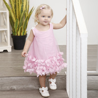 1 4 Years Old Girls Dresses New Fashion Formal Newborn Wedding Dress Baby Girl Floral For Toddler 1 Years Birthday Party 3101