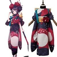 FGO Cosplay Costume Fate Grand Order Foreigner Katsushika Hokusai Cosplay Costume Dress Kimono For Halloween Carnival Costumes