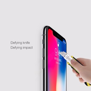 Image 3 - for iphone x screen protector fully covered nillkin 3D CP+ 9H 0.33mm thin for iPhone XS tempered glass curved  5.8 High Clear
