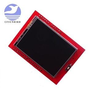 Image 2 - 2.4 inç TFT LCD dokunmatik ekran kalkanı Arduino UNO için R3 Mega2560 LCD modülü 18 bit 262,000 farklı tonları ekran kartı 9341