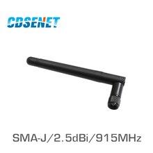 4 TX915 JK 11 CDSENET pçs/lote 915MHz Omni High Gain Wifi Antena SMA Macho uhf Antena Para O Módulo de rf