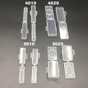 100 шт 3010 30x10 мм 30*10 прозрачный водонепроницаемый провод Знак кабель галстук маркер маркированный тег коробка