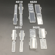 100pcs 3010 30x10mm 30*10 Transparent Clear Waterproof Wire Sign Cable Tie Marker Labeled Tag Box