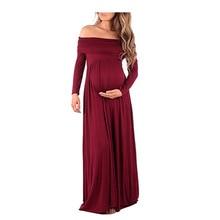 Ciążowa długa sukienka do fotografowania zdjęć Fotografia nocna Rekwizyty Krótki rękaw Bezrękawnikowe ubrania w ciąży