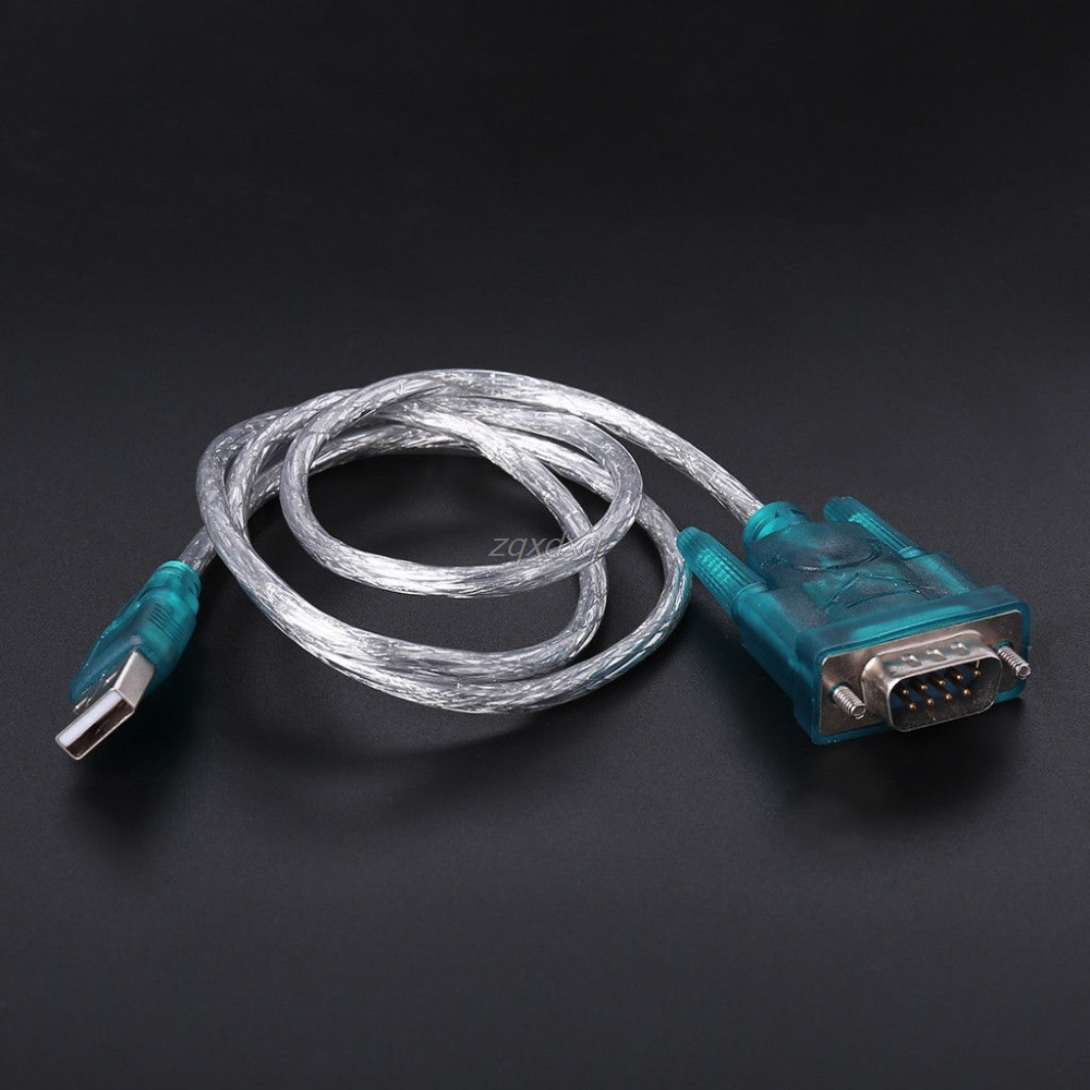 USB To RS232 Serial Port 9 Pin DB9 Cable Serial COM Port Adapter Convertor Z17 Drop Ship