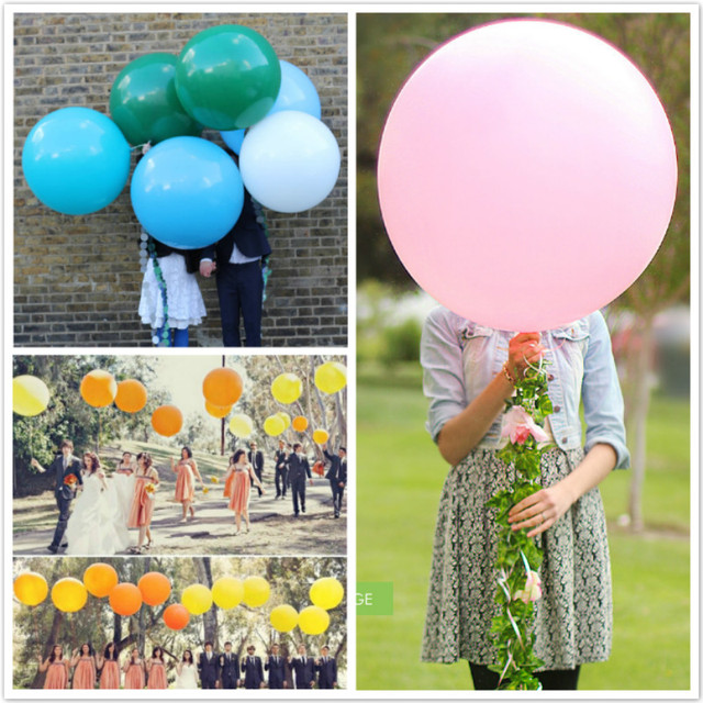 5pcs Wedding Decoration18 45cm Giant Helium Latex Balloon Party Large Balloons Decoration