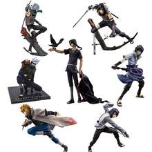 Uchiha Itachi kakashi Namikaze Minato Uchiha Sasuke Action Figure (15-27cm)