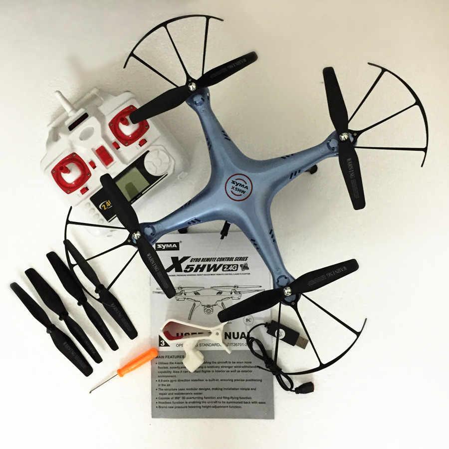 Syma X5HW Радиоуправляемый Дрон с камерой 2,4G Hz RC вертолет RC Квадрокоптер 6-AIX Дроны с камерой HD Дрон VS Syma X5SW Квадрокоптер