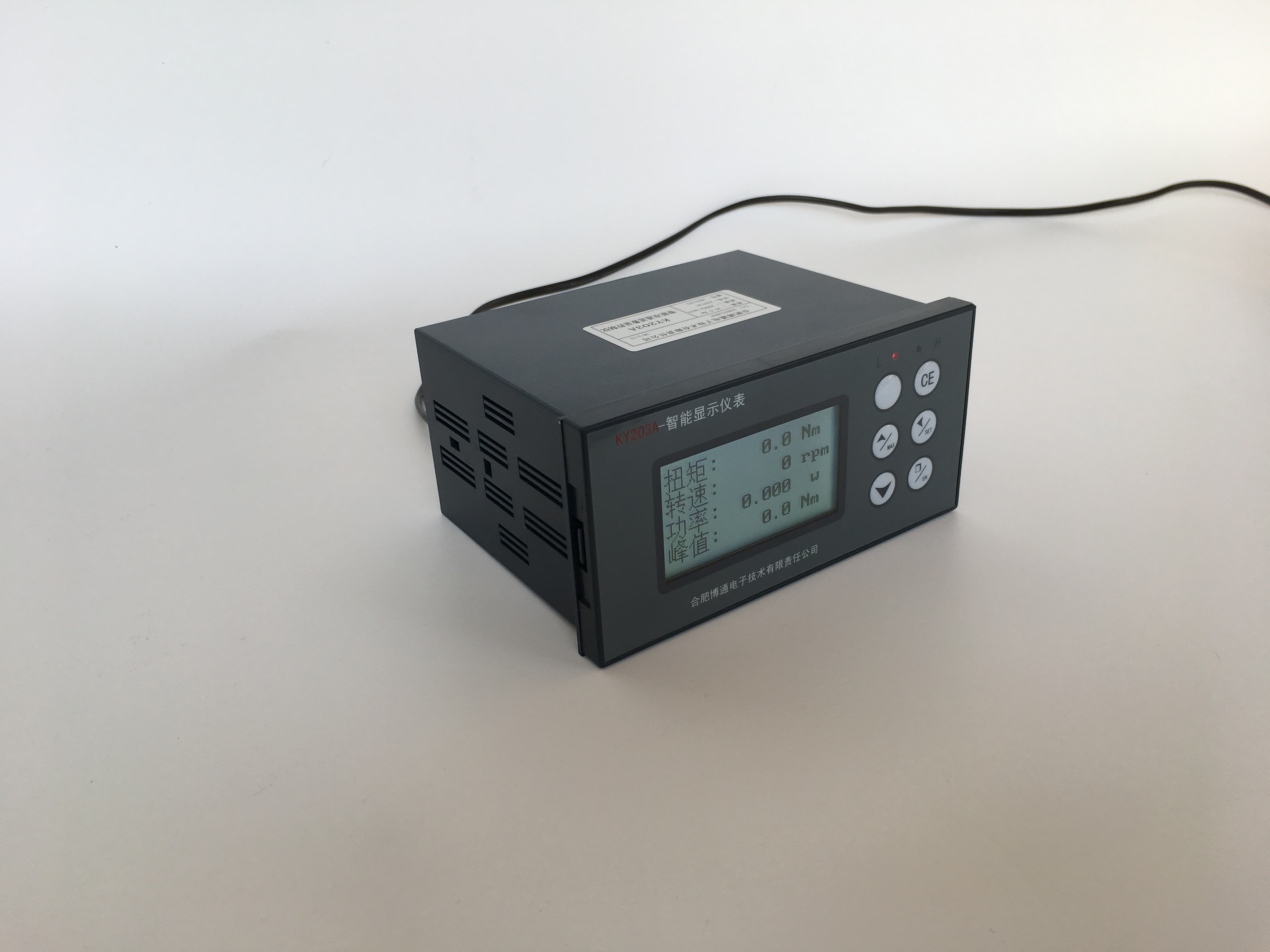 Indicator Meter Display for torque sensor to see the value of the testing result directly