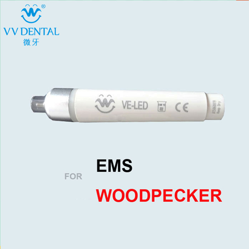 Free shipping VE-LED handpiece dental instrument for EMS/Woodpecker dental unit personal care teeth whitening new 2pieces ve led handpiece dental instrument for ems woodpecker dental unit teeth cleaning scaler dental equipment
