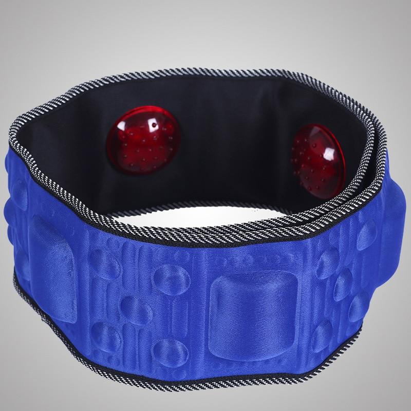 New Useful Electric Body Slimming Belt Heat Function Vibra Vibration thin belt Rejection Fat Massage Slimming Machine slim