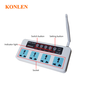 Image 5 - Konlen 16A  GSM Socket Timing Switch Home Smart Remote Control Power Plug 4 Channel Relay With Temperature Sensor