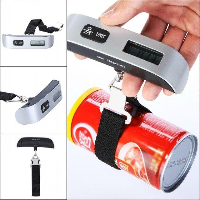 Z-Unit Balance électronique numérique 50 kg pour valise de voyage 2