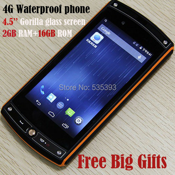 Free Gifts Original Oinom Lmv10 Ip68 Waterproof Rugged 4g Fdd Lte Gsm Quad Cores Android 4