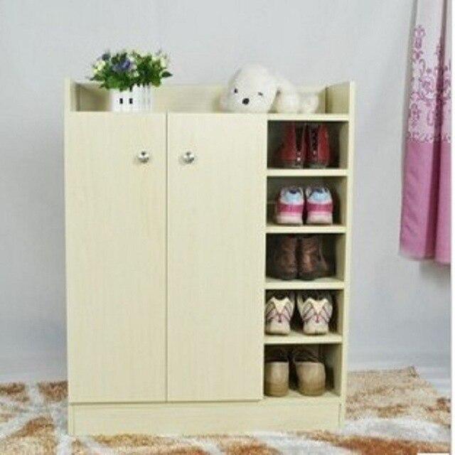 Shoe Racks Living Room Furniture Home Furniture Wood Panel Multi Functional Shoe  Rack 80*30