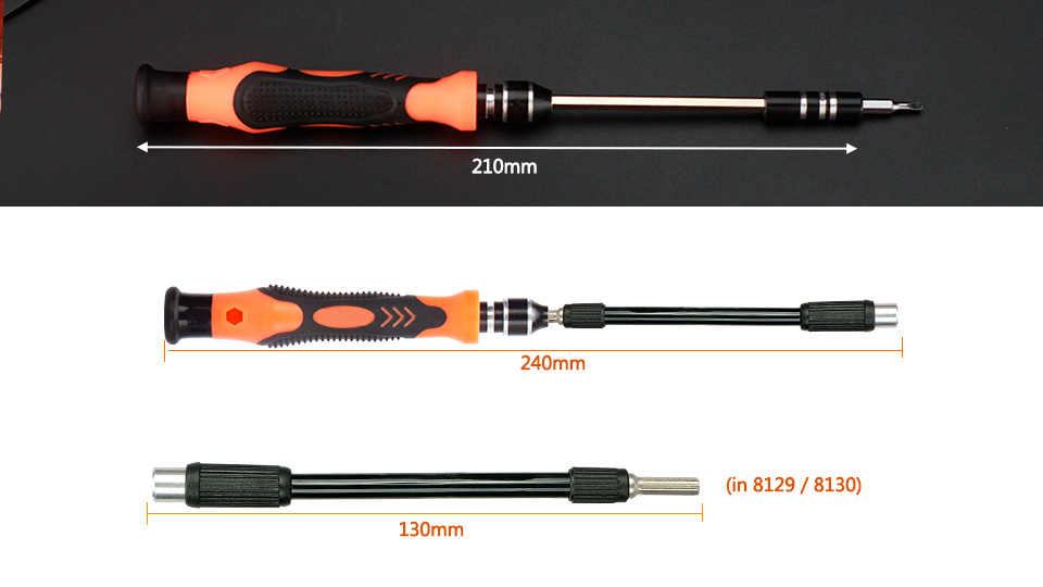 Quality Magnetic 45in1 Precision Screw Driver Set