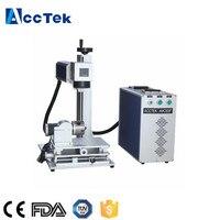 China manufacturer 20W 30W portable fiber marking machine co2 laser marking machine marking metal laser engraving machine diy