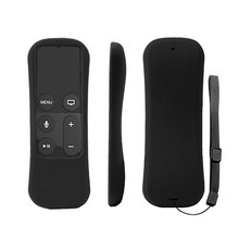 Silicone Remote Control Cover Case For Apple TV 4th Generation Controller Protective Antislip