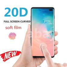 2Pcs/lot Full Cover Screen Protector Film For Samsung Galaxy S10 S9 S8 S7edge Plus Note 10 8 9 Soft Protective Film No Glass(China)
